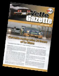 Click here to read selections from our Vette Gazette